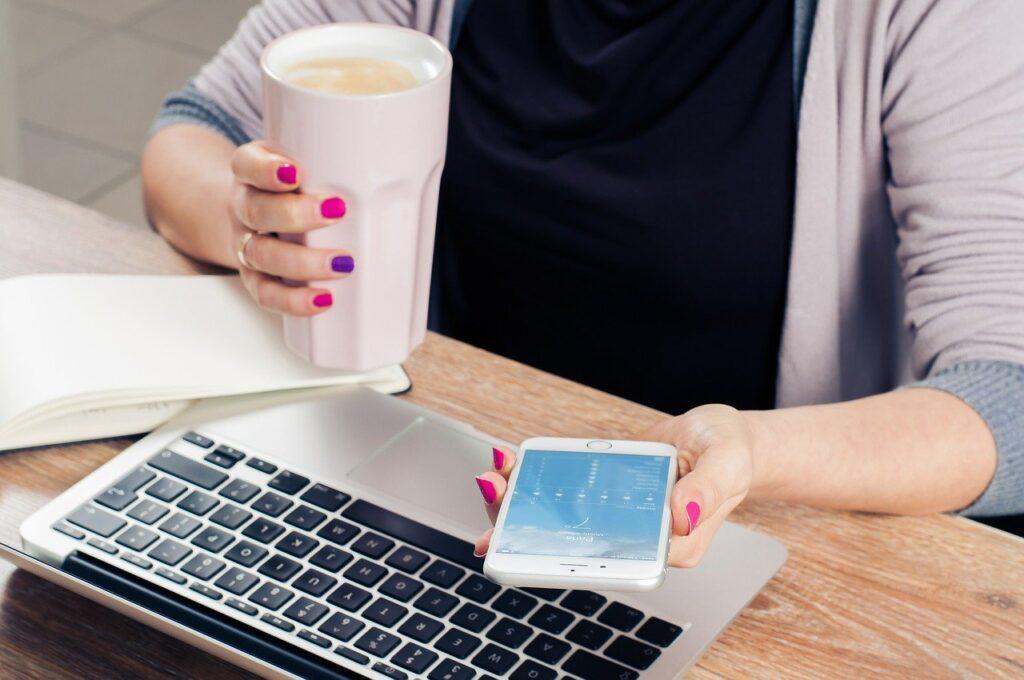office, freelancer, computer